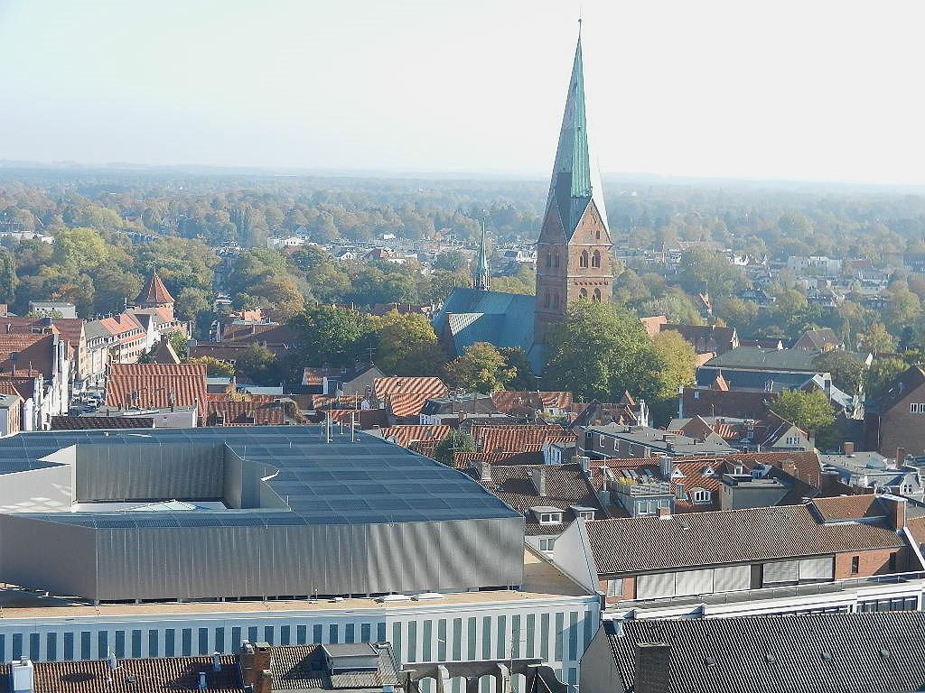 Blick v. Turm - St. Petri