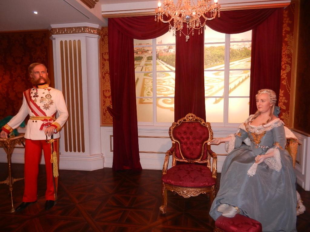 Kaiserin Maria Theresia und Mann Franz