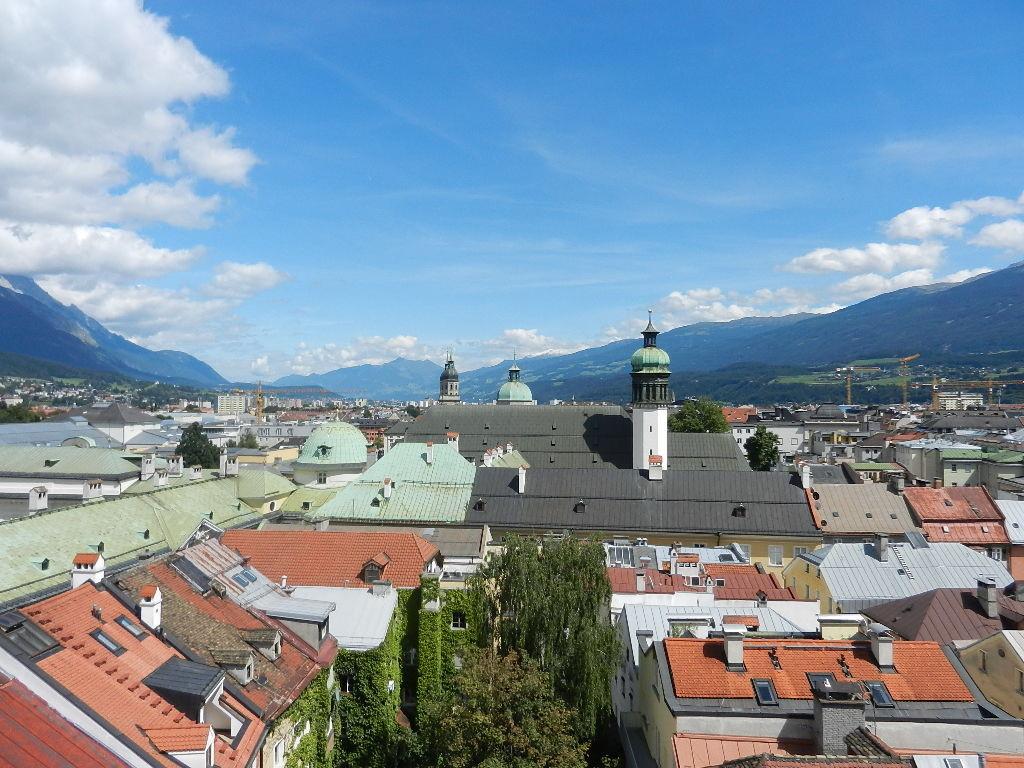 in der Altstadt - Blick v. Stadtturm
