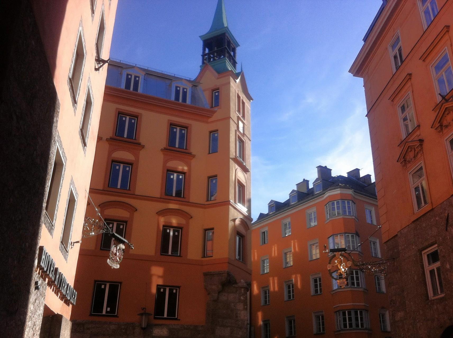 in der Innsbrucker Altstadt - 20.Feber 2015