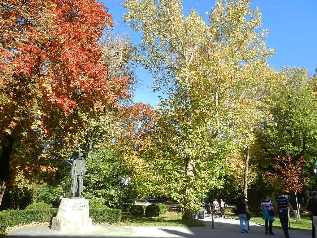 Kaiser Franz-Josef-Denkmal auf dem Bergisel...