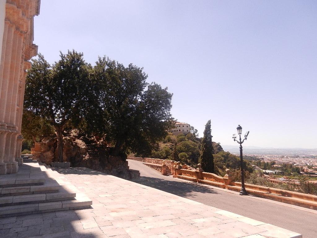 Auffahrt zur Wallfahrtskirche