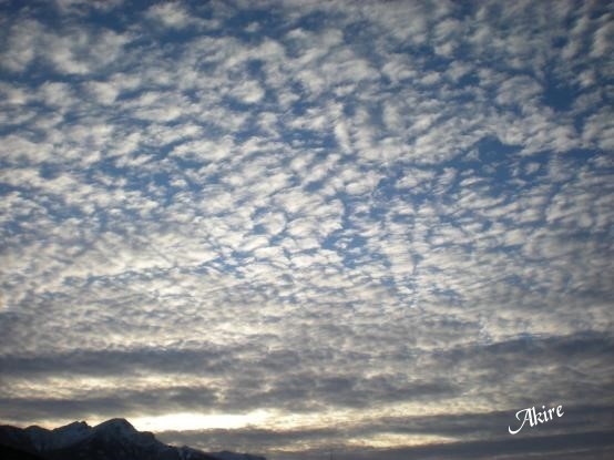 Original (Himmel über Innsbruck - aufgen. am 23.11.08)