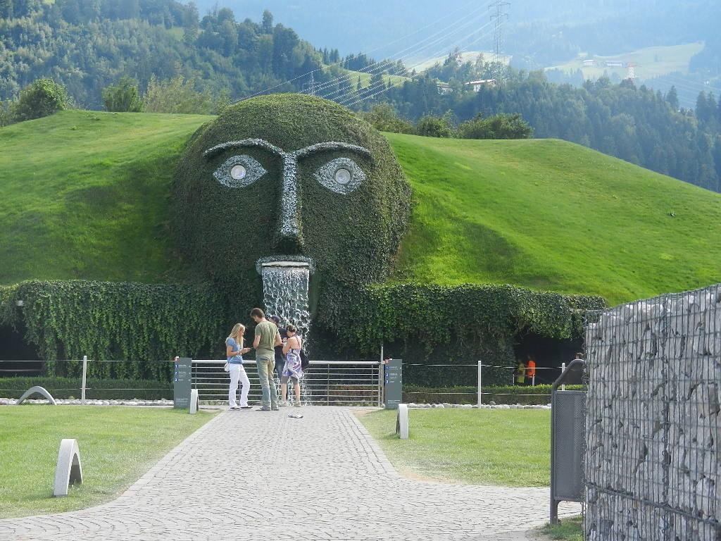 in den Kristallwelten in Wattens in Tirol