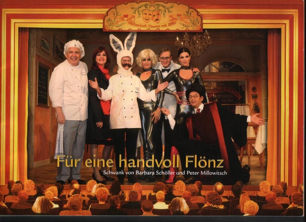 """Bild ist v. Programmheft - Flönz heißt """"übersetzt"""" :-)) Blutwurst / links Peter Millowitsch - der jetzige Besitzer"""