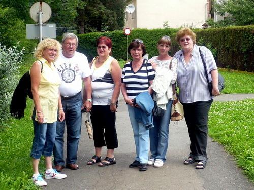 1. Juli 2009 -auf dem Weg in die Stadt