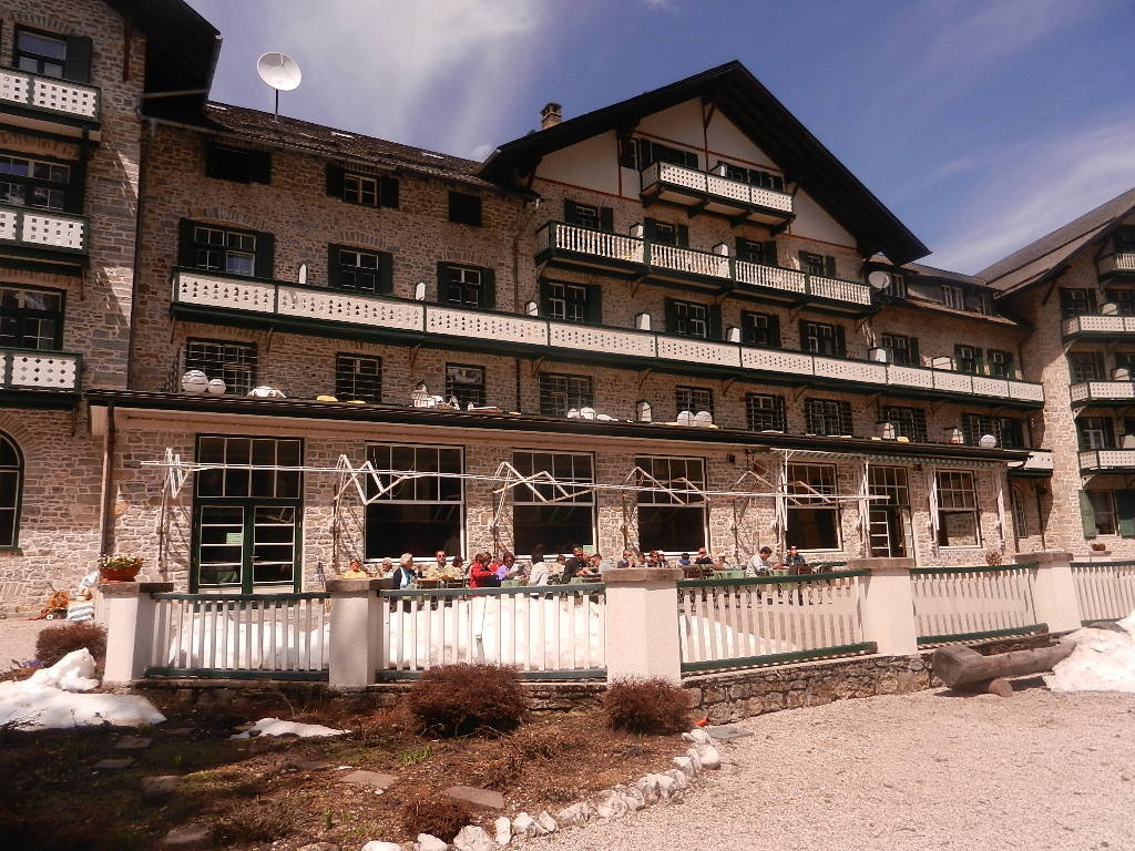 Terrasse des Hotels