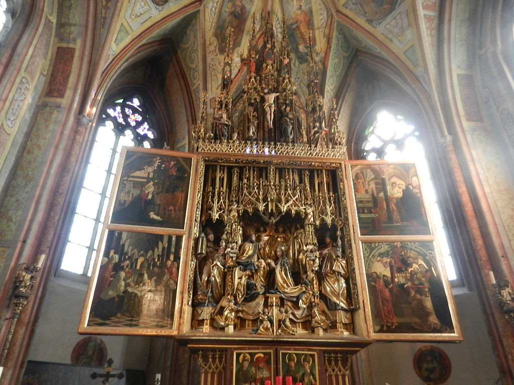 Michael Pacher Altar in der Kirche v. St. Wolfgang