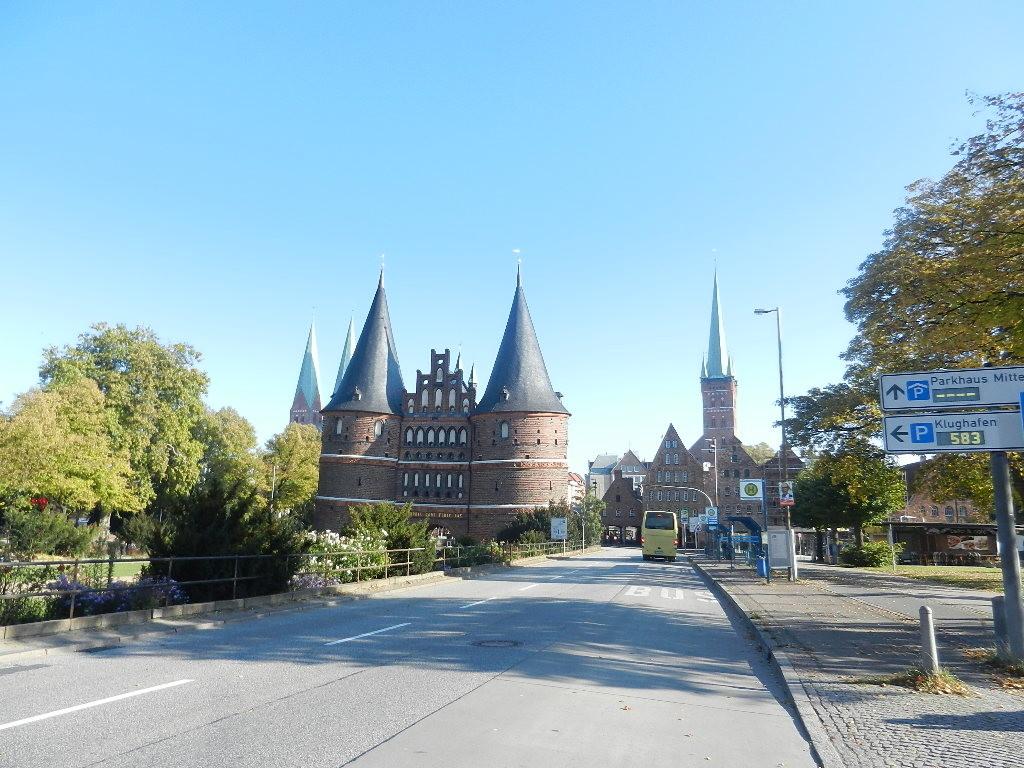 Holstentor - Wahrzeichen von Lübeck