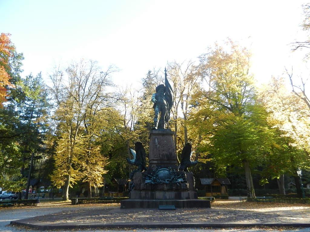 ...und das Andreas Hofer-Denkmal