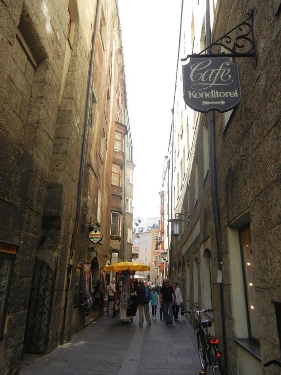 einer der Altstadtgassen