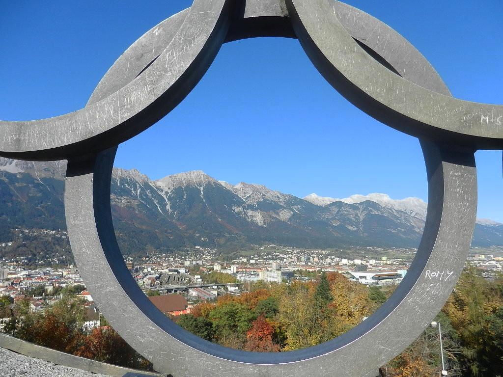 Blick auf Innsbruck u.d. Nordkette