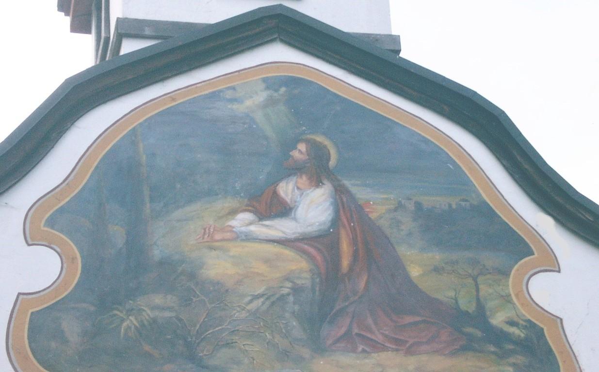 Bildnis an der Kapelle