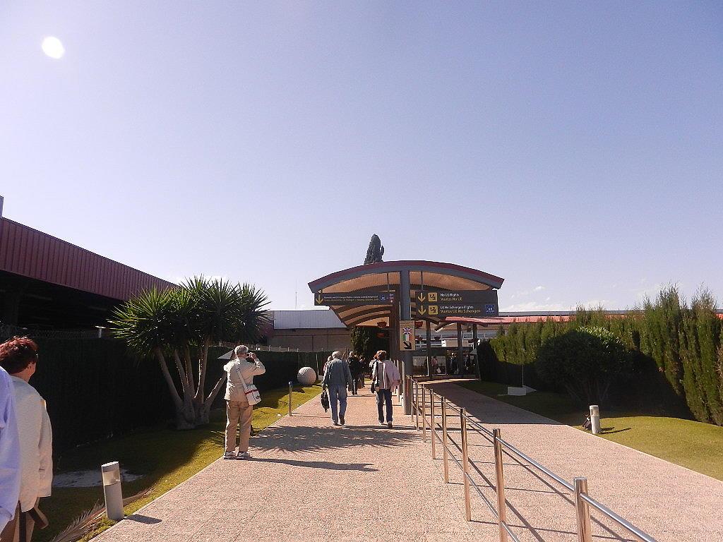 Ankunftshalle Murcia -Flughafen San Javier
