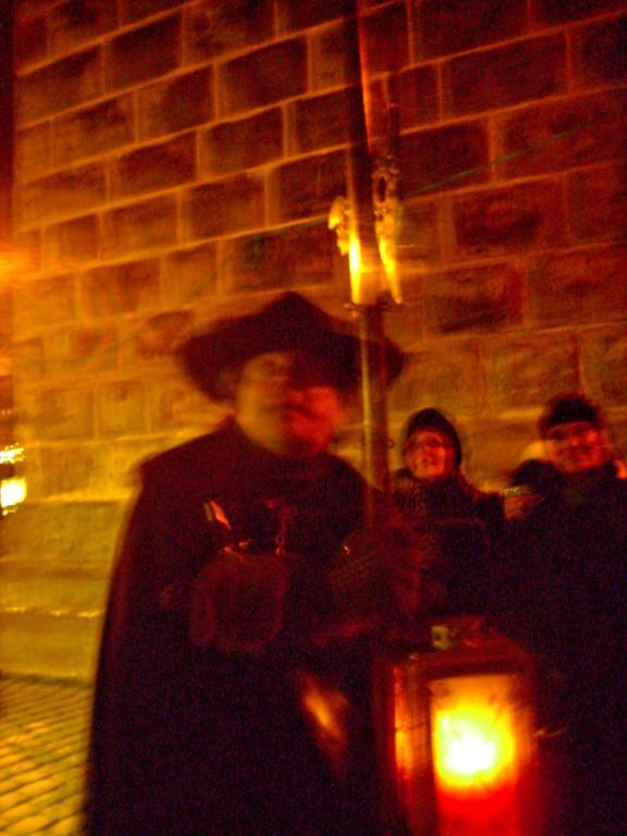 Nachtwächterwanderung durch Rothenburg