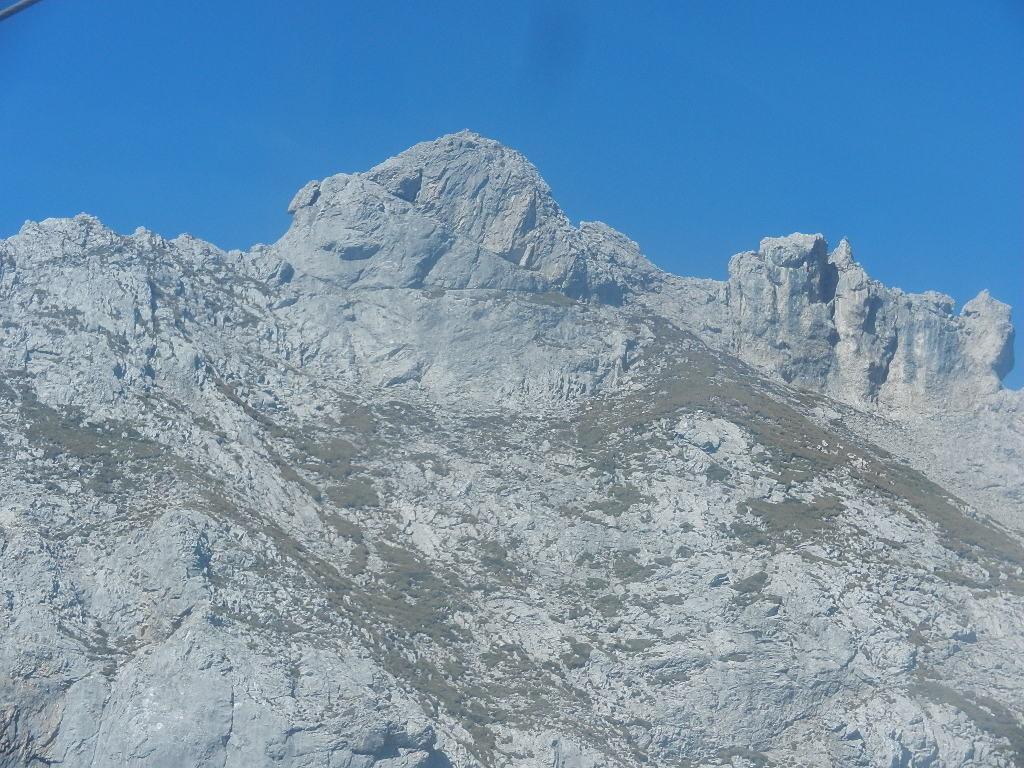 Aufnahme aus der Gondel bei der Bergfahrt