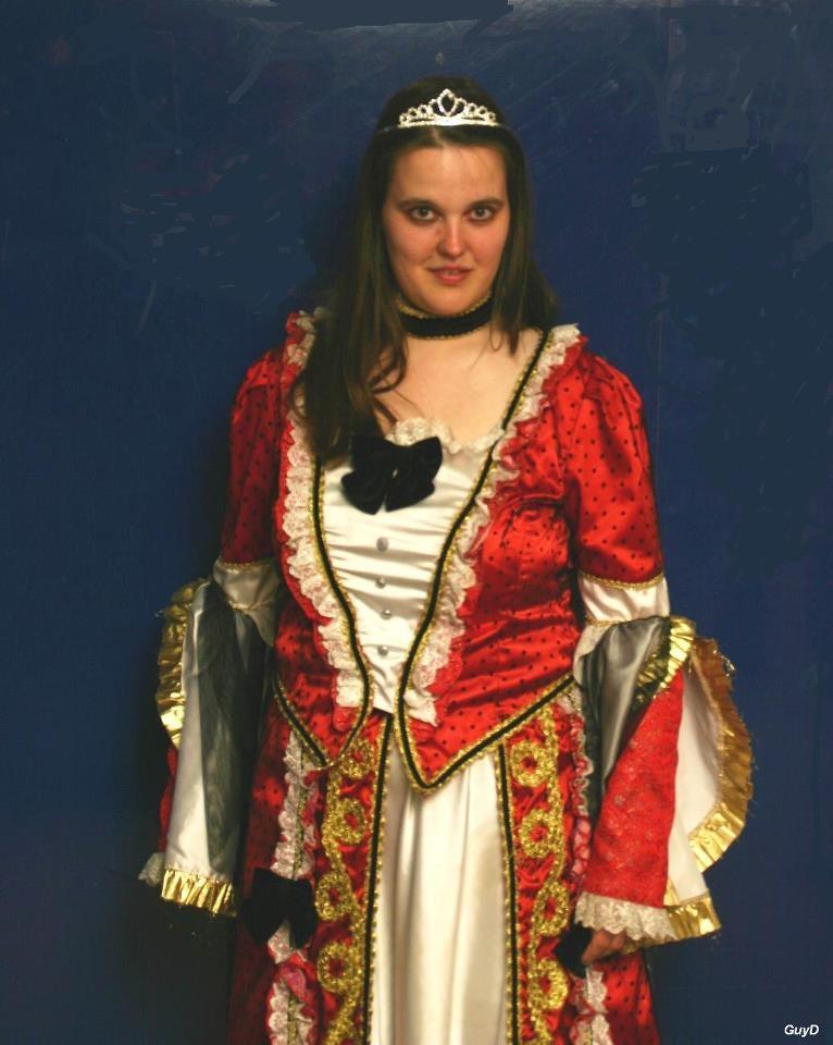 """Ich im Kleid """"Rococo Star"""""""