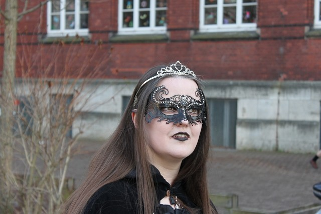 Ich mit meiner Maske