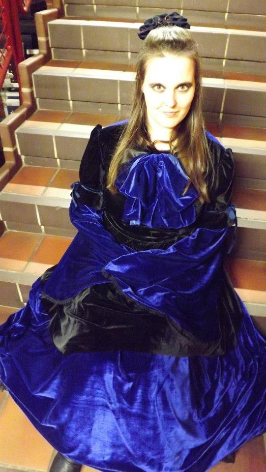 """Ich im Kleid """"Nightdream"""""""
