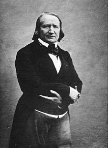 Photo d'Alfred de Vigny - Source Wikipedia