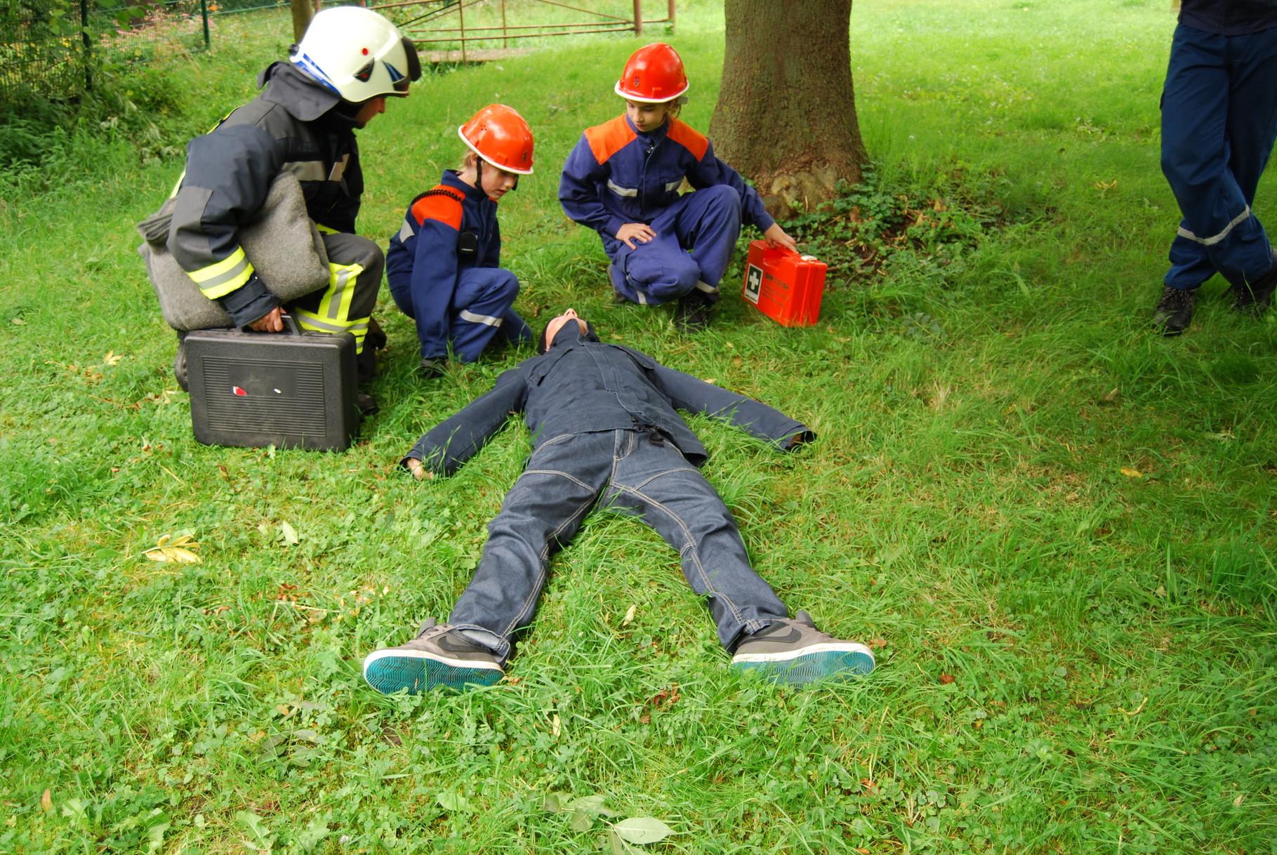 Berufsfeuerwehrtag der Jugendfeuerwehr Kölleda