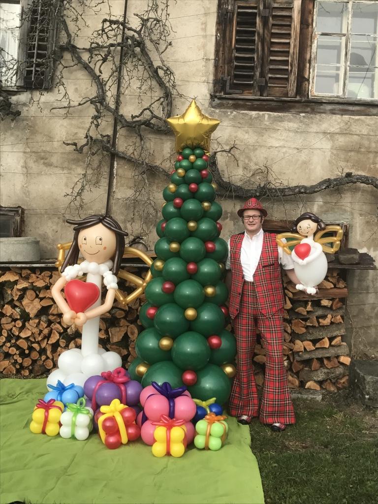 Bilder Von Weihnachten.Weihnachten Mr Balloni S Ballonkunst