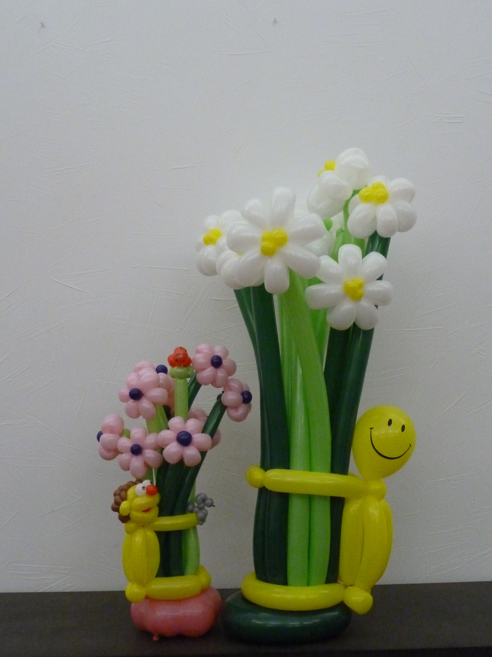 Ballonblumen twisten,Geburtstag ,  Blumenstrauß, Mr. toni balloni ch
