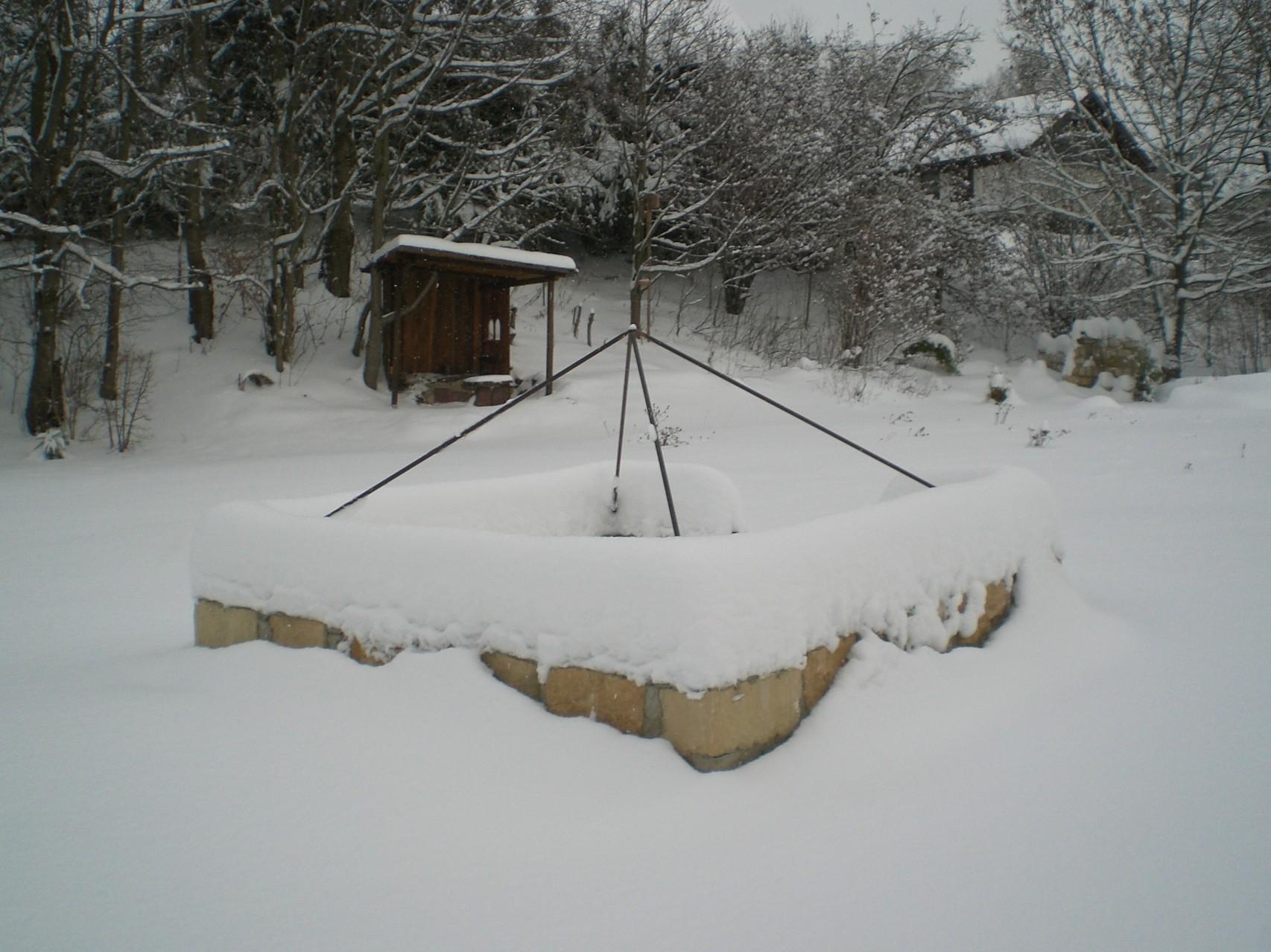 Geomantischer Aufladeplatz / Winter 2013