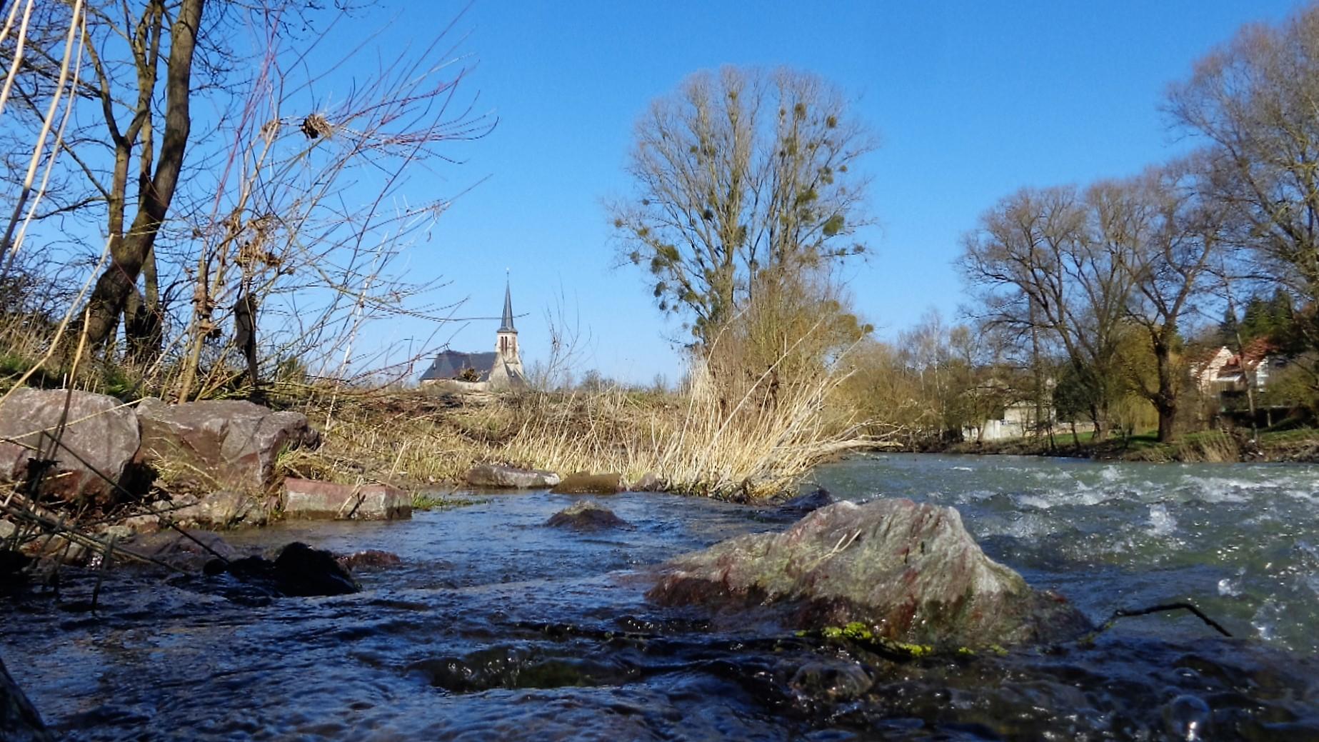 An der Nied bei Niedaltdorf