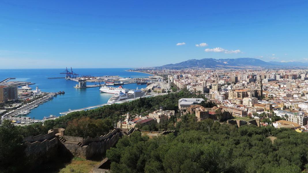 Málaga / Spanien