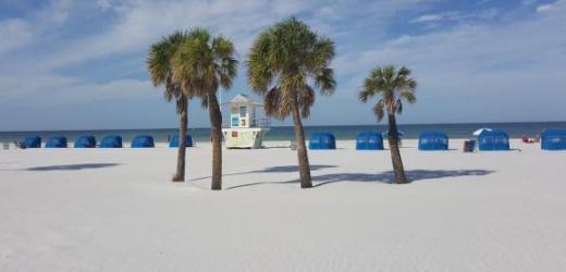 Platz sieben: Clearwater Beach, Florida, USA.