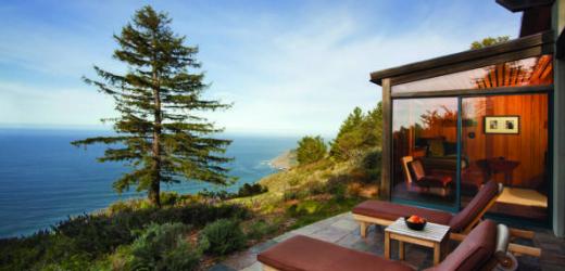 Platz zwei: Post Ranch Inn, Big Sur, USA. Was für Anne Hathaway gut genug ist, kann für Normalsterbliche nicht schlecht sein.