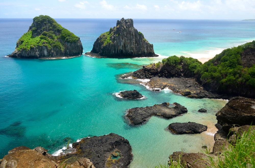 Baía do Sancho in Brasilien ist laut den Tripadvisor-Nutzern der schönste Strand der Welt.