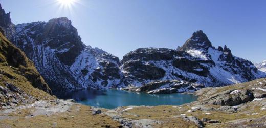 Der Schottensee: nur ein Höhepunkt der Fünfseenwanderung am Pizol. (Bild: Imagebroker/Imago)