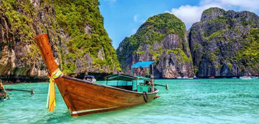 Platz acht: Thailand.