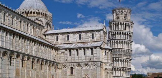 Auf Platz fünf liegt Italien. Neben schönen Stränden hat unser südlicher Nachbar auch in den Bereichen Kultur und Essen einiges zu bieten wie zum Beispiel in der Stadt Pisa.