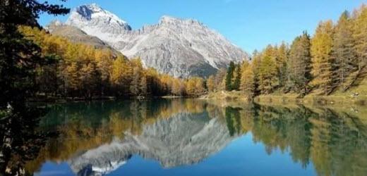 Platz neun: Palpuognasee, Bergün GR. Kommentar von Daniela: «Traumhafte Landschaft, vor allem im Herbst sehr zu empfehlen.»