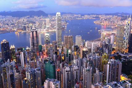Platz 1: Hong Kong