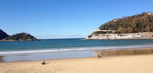 Platz sechs: La Concha Beach, San Sebastián, Spanien