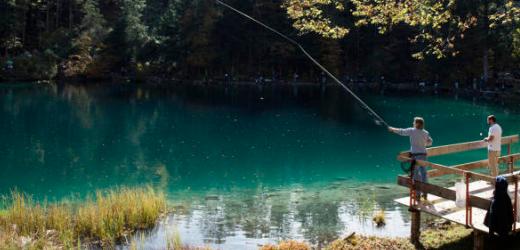 Der Blausee im Kandertal (BE) wurde mehrfach von den Lesern empfohlen.