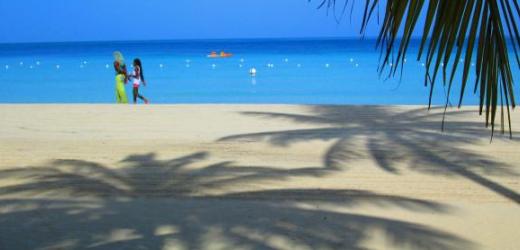 Platz acht: Seven Mile Beach, Negril, Jamaika