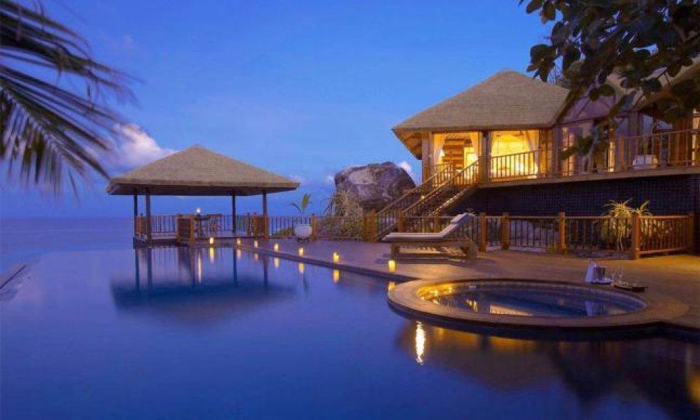 Platz 6 (Vorjahr: 6): Fregate Island Private, Seychellen Zum dritten Mal in Folge behauptet sich die private, ökologisch nachhaltig konzipierte Seychelleninsel auf Platz 6.