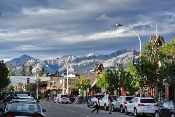 «Jasper, das charmante Bergdorf in den kanadischen Rockies...»