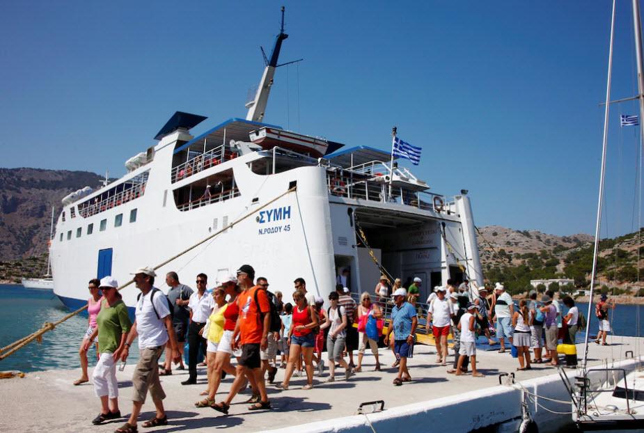 Platz acht in der Rangliste geht an die griechische Insel Rhodos.