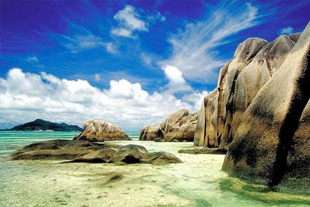 Platz 8: Seychellen