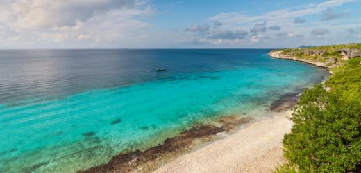 An der Küste von Bonaire.
