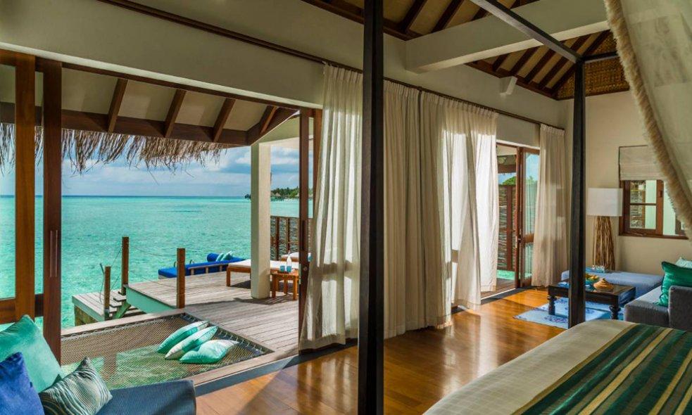 Platz 9 (Vorjahr: 60): The Four Seasons at Landaa Giraavaru, Malediven Dass das zurückhaltend luxuriöse, tadellos geführte Inselresort um 51 Ränge vorrückt, ist so überraschend wie überzeugend.