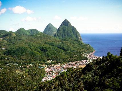 Platz 9: St. Lucia