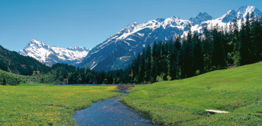 Die Höhenwanderung, die bei der Bergstation Golzernbahn startet und hinauf zum Golzernsee führt, ist sehr beliebt.