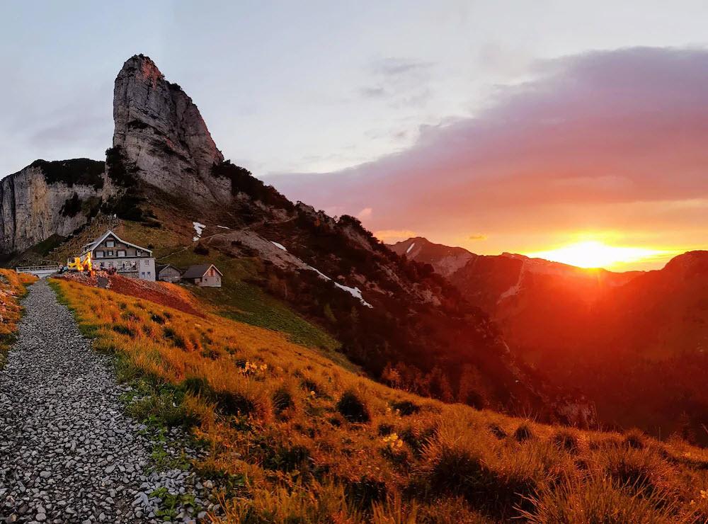 Für BLICK-Leser Ralph Dietsche ist das Berggasthaus Staubern auf dem Staubern-Grat AI als Geheimtipp, weil der Berg nicht von Wanderern überlaufen sei.